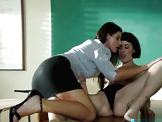 India Summer Fucks The Substitue Instructor Olive