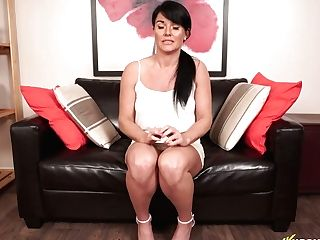 Filthy Dark Haired Shelly Is Glutton For Hard Big Dick Right Here And Right Now