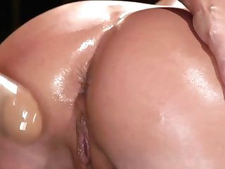 Dark Haired Lezzie Domination Ass Fucking Fucks Blonde Cougar