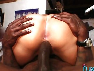 Big Black Cock Fucks Supah Bosomy Milky Hooker With Flawless Culo Julia