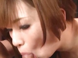 Mami Yuuki Works Magic On Manґs Large Dick