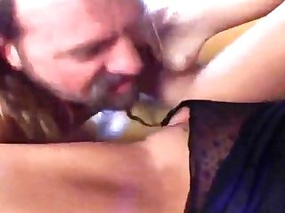 Cougar Spunk Junkie Fucking Two Guys For Jizm