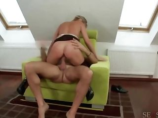 Blonde Mummy Loves Anal Intercourse