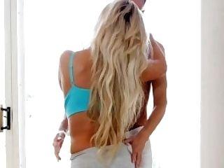Puremature Gigantic Melon Tits Cougar Bridgette B After Yoga Fuck