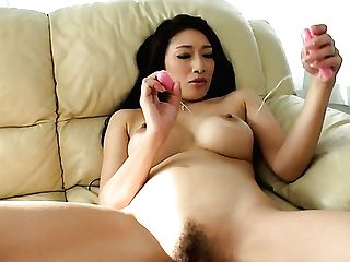 Beautiful Damsel Masturbating With Smallish Vibro In Arousing Solo Movie