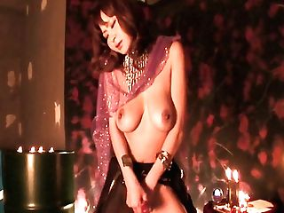 Exotic Asian Pornography Model Hikaru Wakabayashi Masturbates Her Bald Cootchie
