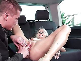 Fairly Buxom Blonde Whore Zaira Is Aggressively Romped Rear End By Thrilled Stud