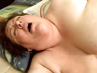 Pervy Fat Granny Is Bootie Tonguing Before Getting Banged Hard From Behind