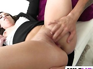 Hairless Cougar Naomi Rose Makes It Nasty