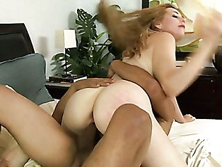 Blonde Hoe Kristen Kross Penetrated Hard By Three Antsy Dudes