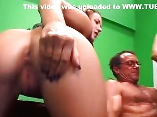 Mom And Daughter-in-law Fuck Older Man
