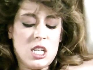 Steamy Threesome On The Table With Big-titted Christy Canyon - Retro
