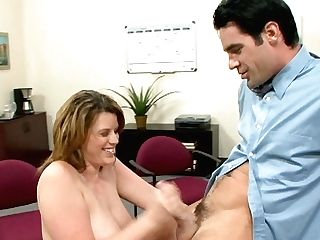 Nasty And Horny Bitch Lisa Sparxxx Sucking Deepthroat Her Manager's Lollipop And Pounded From Behind