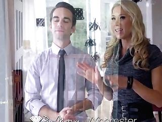 Puremature Superstar Mummy Katie Morgan Fucks Potential Customer