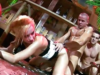 Whorish Chicks Get Fucked Hard By Experienced Capoeira Practitioners