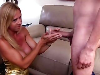 Horny Big-titted Blonde Cougar Brooke Tyler Gets It Good From Youthful Lucky Dude 720p