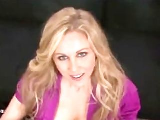 Huge-chested Blonde Mummy Julia Ann Kneels Point Of View To Suck Your Weenie!