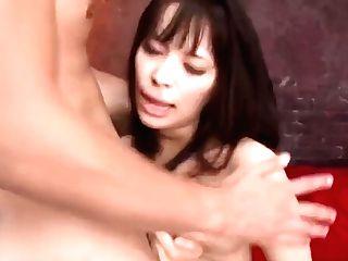Threesome Extreme For Chesty Asian Woman Kyouko Maki