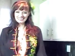 Whorish Sundress For Cougar Shanda Fay Gets Her Man To Spunking!